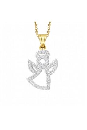Altın Sepeti Melek Aşkıma Altın Kolye