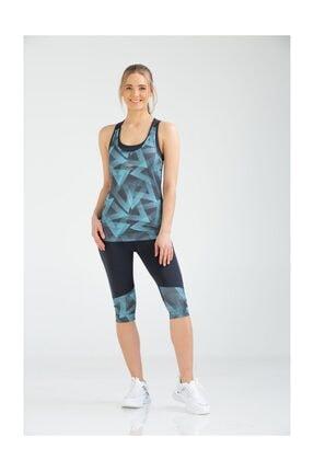 Umbro Kadın Fitness Bermuda Tayt Takım Vb-0001 Yun Sportswear