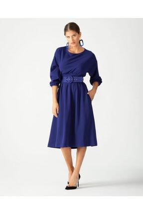 Kadın Diz Altı Elbise 3575