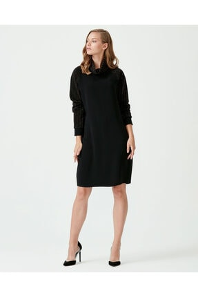 Seçil Kadın Siyah Elbise