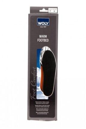 Woly Warm Footbed Ortopedik Ayakkabı Tabanı Unısex