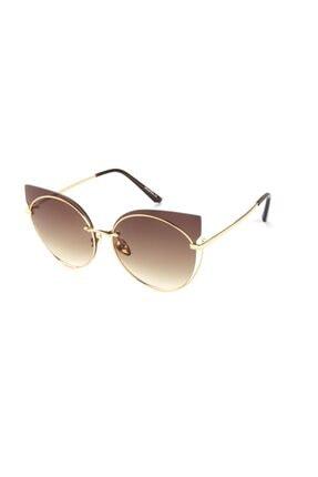 Di Caprio Kadın Oval Güneş Gözlüğü Dtx1276c