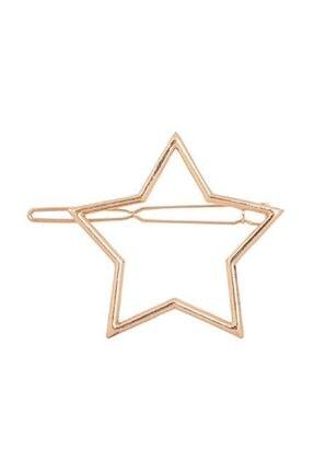 New Look Rose Star Shape Klipsli Toka
