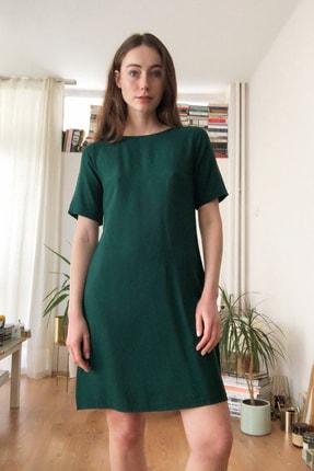 Zümrüt Yeşili Basic Elbise TWOSS20EL1401
