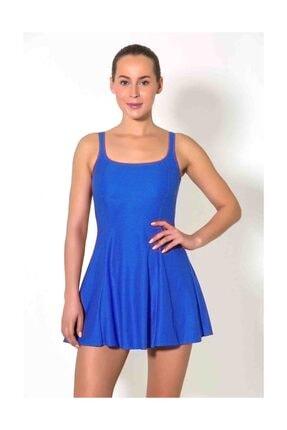 CAMASIRCITY 7230 Elbise Mayo Sax Mavi