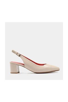 Kadın Kemik Deri Topuklu Ayakkabı G1202 G1202 Kemik Deri