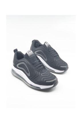 Jump Siyah Unisex Aır Taban Koşu Ayakkabısı