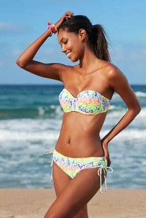 No Gossip Kadın Sürgülü Bikini Alt 209206-D Leopard