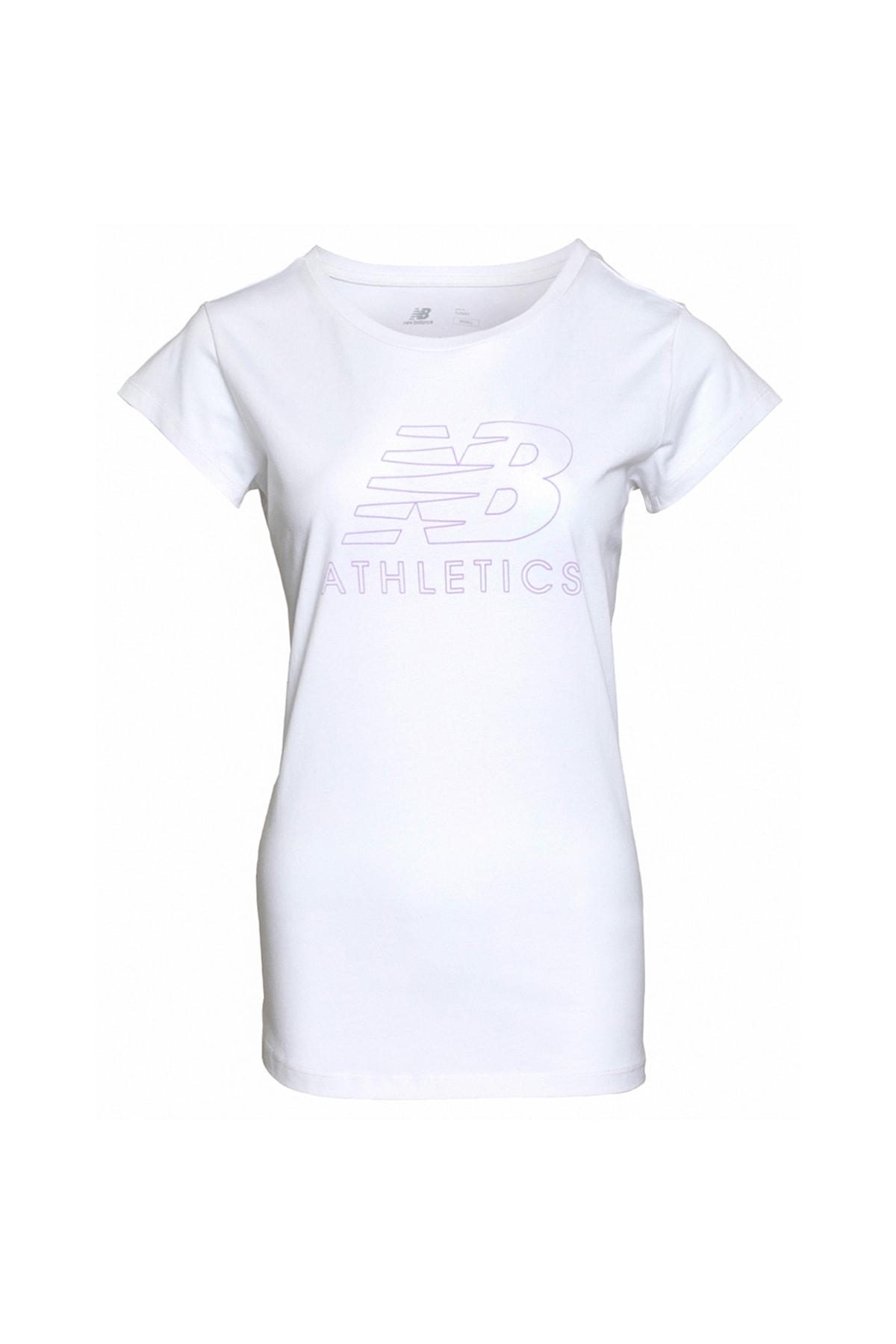 New Balance WPS003-WT Kadın Tişört