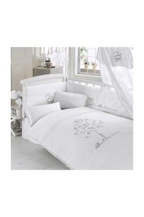 80x130 Uyku Seti Balerina Bebek Beşik Seti, Pamuklu, Fermuarlı, Mobilya Beşik Içi Koruması Kidboo 80x130 Uyku Seti Balerina