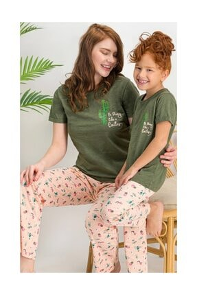Arnetta Anne Kız Kısa Kol Uzun Pantolon Pijama Takım