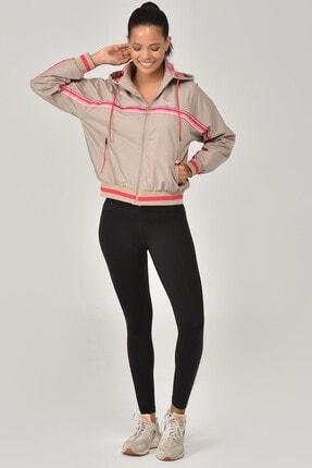 Bilcee Siyah Yüksek Bel Toparlayıcı Sporcu Kadın Tayt FW-1509