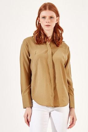 Manche Olive Kadıngömlek | Mk20s162593