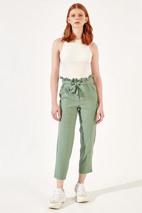 Manche Yeşil Kadınpantolon | Mk20s661009