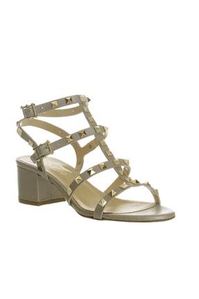 POLETTO Kadın Bronz Sandalet Ayakkabı