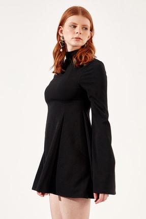 Manche Siyah Kadın Elbise | Mk20s283147