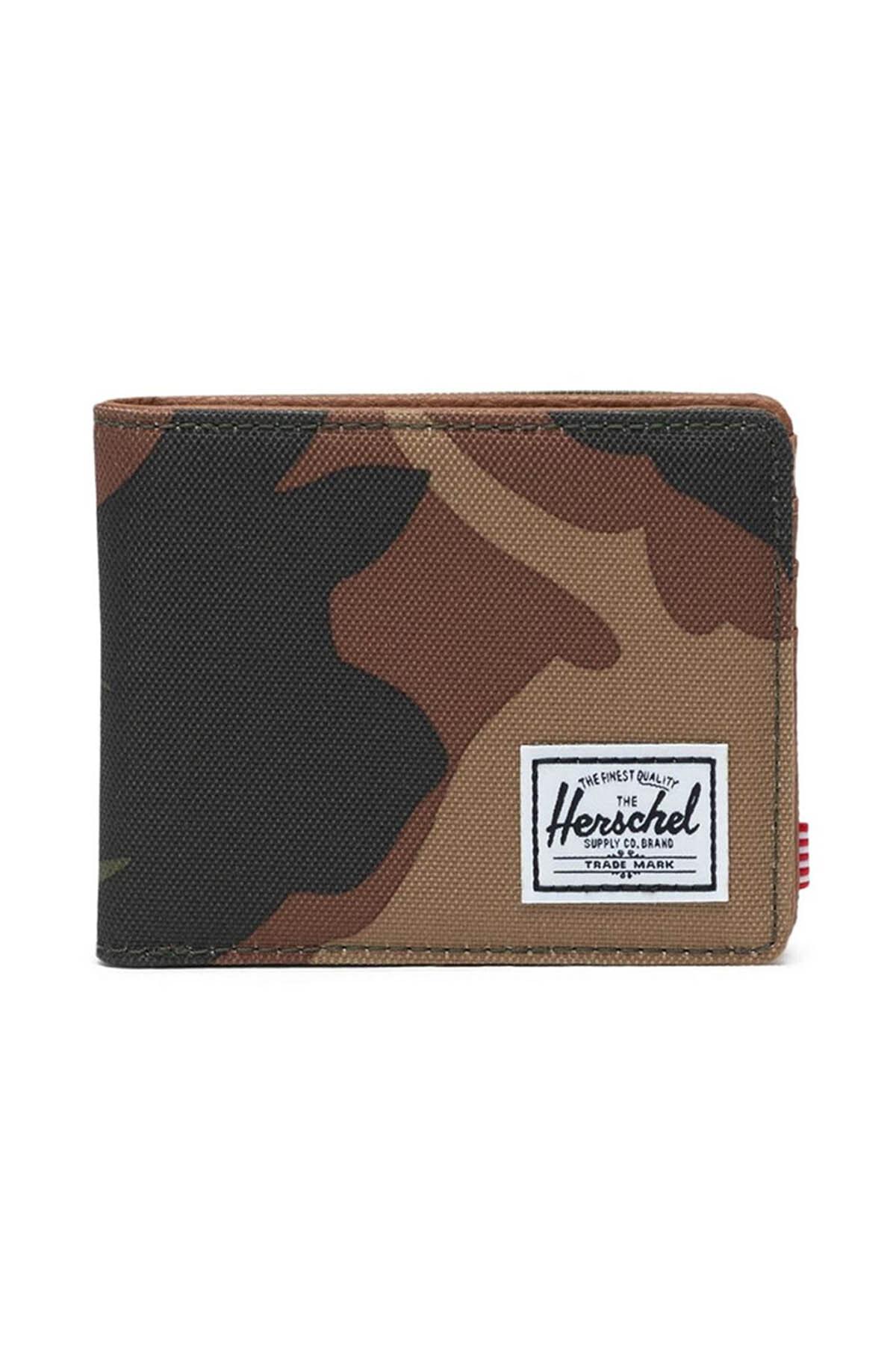 Herschel Unisex Spor Mont -  Hank RFID Woodland Camo - 10368-00032-OS