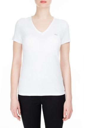 Lacoste Kadın T Shirt  TF0999 001