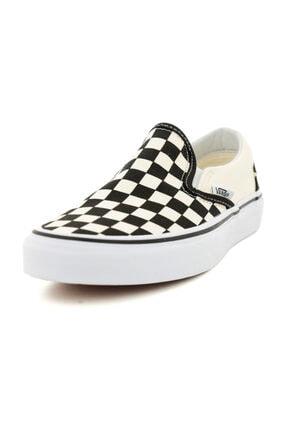 Vans 000EYEBWW1-R Vans Classic Slip-On Unisex Spor Ayakkabı Beyaz
