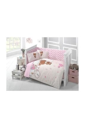 Bebek Uyku Seti Ranforce Kumas Teddy Pembe clasy-Ç-U.S-Teddy