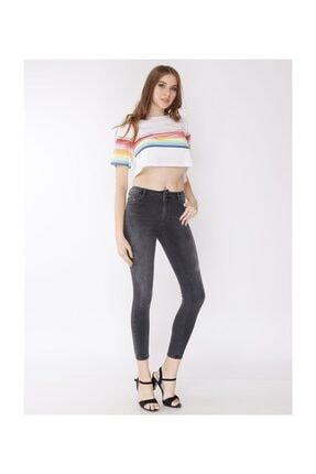 Twister Jeans Eva  Crop Füme Jean 9028-58