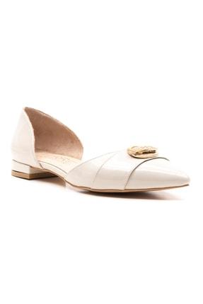 Ferre Kadın Babet Ayakkabı Bej