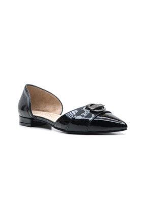 Ferre Kadın Babet Ayakkabı Siyah