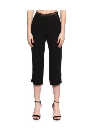 Nina Ricci Dantel Işlemeli Siyah Pantolon