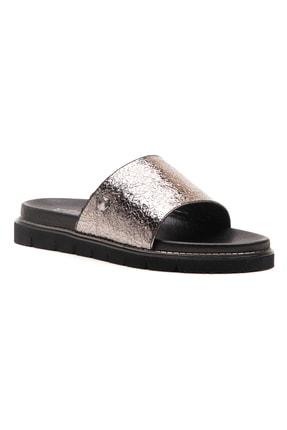 Ferre Sandalet Terlik Gümüş