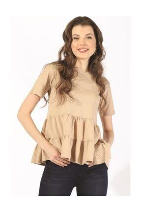 Twister Jeans Bts Büzgülü Tshirt 3002 Bej