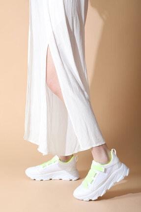 Rovigo Kadın Beyaz Sarı