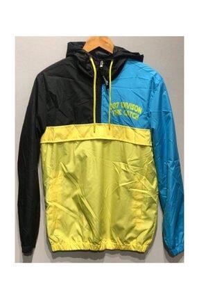 Catch Yağmurluk 987 Division Sarı Mavi