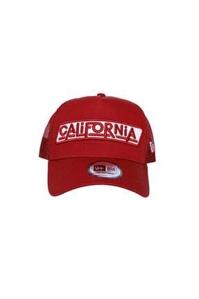 New Era Usa Patch California Rouge Unisex Şapka 12150287