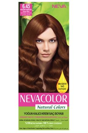 Neva Color Natural Colors 6.45 Soğan Kabuğu - Kalıcı Krem Saç Boyası Seti
