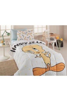 Uyku Seti Tek Kişilik Tweety Happy Sarı EVTUSTÖZDL00075