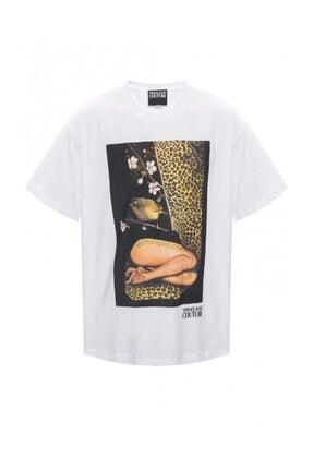 Versace Collage Capsule Collection Sıfır Yaka T-shirt