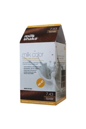 Milkshake Milk Color Eko-kit Orta Kumral Bakır Dore -7.43 (köpüksüz)