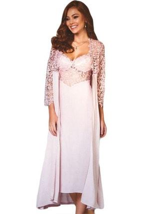 5060 Penye 6 Lı Bayan Gecelik Sabahlık Pijama Takımı PRC5060