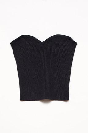 Dilvin Kadın Siyah Triko Büstiyer 101A02654