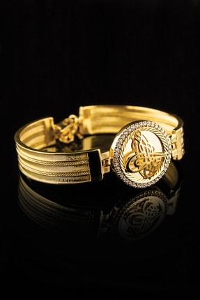 Forivia 22 Ayar Altın Kaplama Zirkon Taşlı Bileklik