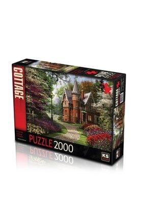 11294 Puzzle 2000/victırıan Cottage Puzzle 2000 Parça MES24424