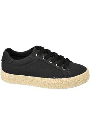 Graceland Deichmann Kadın Siyah Espadril Sneaker