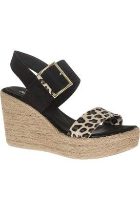 Graceland Deichmann Kadın Siyah Dolgu Topuk Sandalet