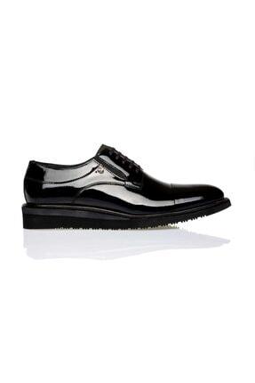 Pierre Cardin Erkek Siyah Rugan Ayakkabı P.cardın 1163404