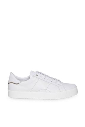 W Collection Kadın Deri Beyaz Sneakers