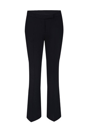W Collection Kadın Siyah Basıc Pantolon