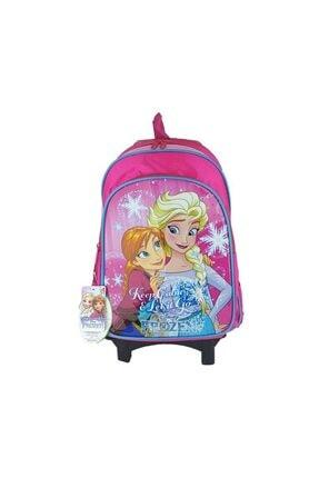 Hakan Çanta Frozen Çekçekli Okul Çantası