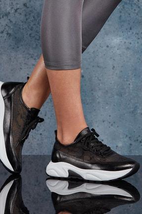 DARK SEER Siyah Kadın Sneaker DS.PMD208