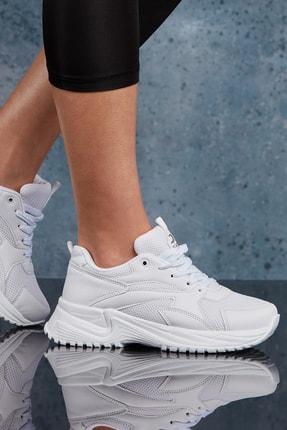 DARK SEER Beyaz Kadın Sneaker DS.MJ1812