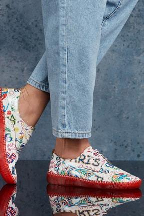 DARK SEER Beyaz Kadın Sneaker DS.PMD253